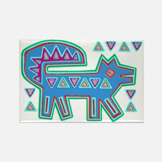 DOG MOLA DESIGN Rectangle Magnet