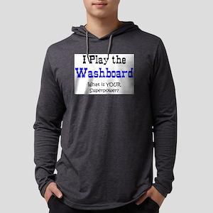 play washboard Mens Hooded Shirt