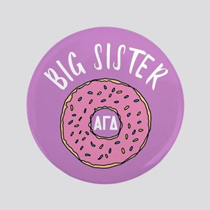 "Alpha Gamma Delta Big Donut 3.5"" Button"