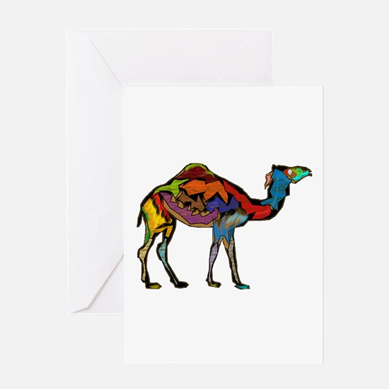 CAMEL SPECTRAL Greeting Cards