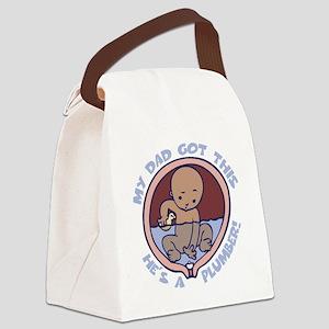 waterbreaker-plumber-DKT Canvas Lunch Bag