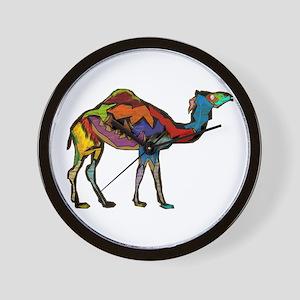 CAMEL SPECTRAL Wall Clock