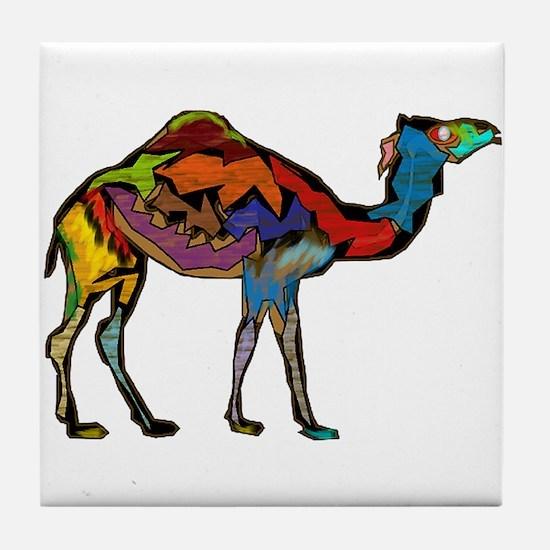 CAMEL SPECTRAL Tile Coaster
