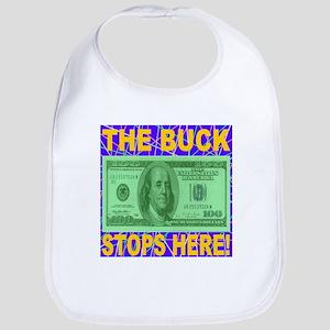 The Buck Stops Here Violet Bib