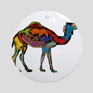CAMEL SPECTRAL Round Ornament