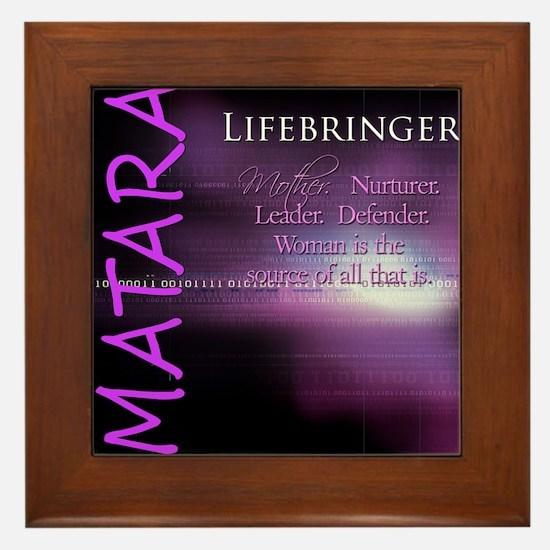 Matara Framed Tile