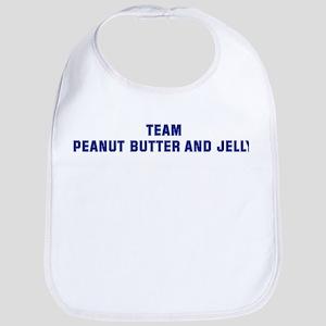 Team PEANUT BUTTER AND JELLY Bib