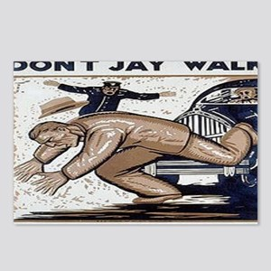 Dont Jay Walk Postcards (Package of 8)