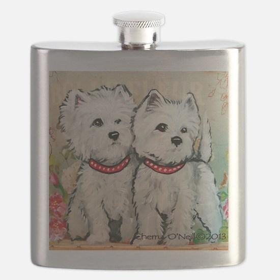 West Highland Spring Flask