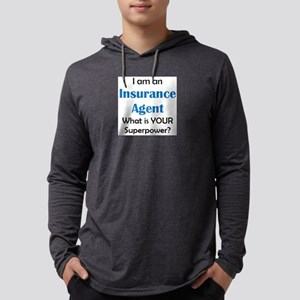 insurance agent Mens Hooded Shirt