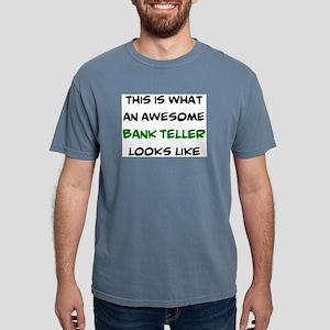 awesome bank teller Mens Comfort Colors Shirt