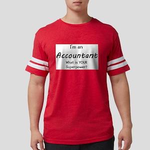 accountant Mens Football Shirt