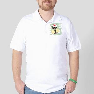 Kawaii Sushi Golf Shirt