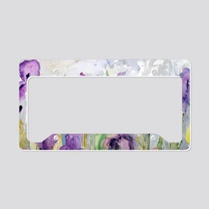 Romantic Ruffles License Plate Holder