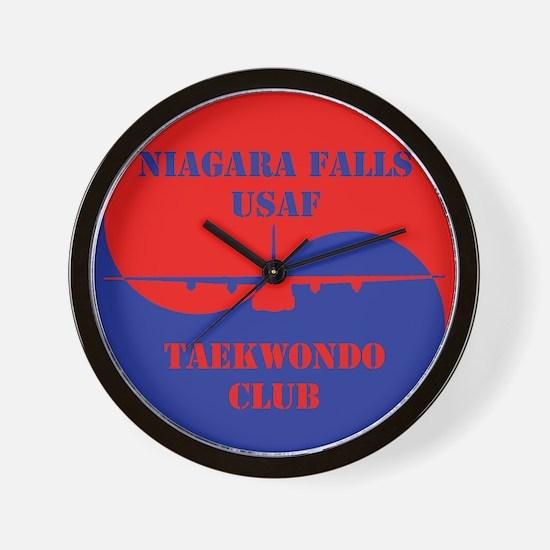 Niagara Falls USAF TKD Club Wall Clock