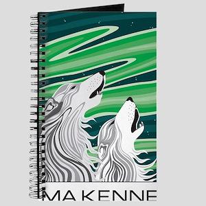 Howling Aurora Huskies Journal
