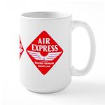 Air Express Large Mug