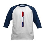 Fencing Weapons Kids Baseball Jersey