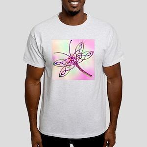 Celtic Dragonfly Light Light T-Shirt