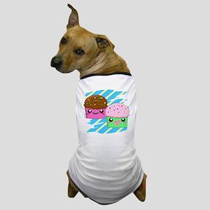 Kawaii cupcakes Dog T-Shirt