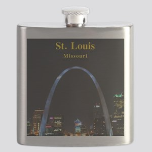 St Louis Gateway Arch Flask