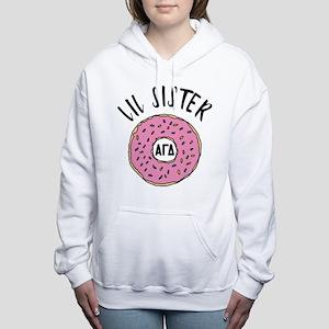 Alpha Gamma Delta Little Women's Hooded Sweatshirt