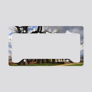 Monticello 12X18 License Plate Holder