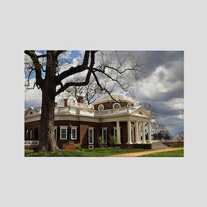 Monticello 12X18 Rectangle Magnet