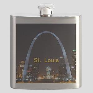 St Louis Gateway Arch Flask