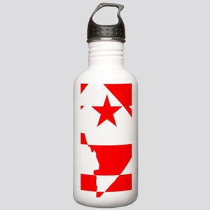 DC Borders Inverted Stainless Water Bottle 1.0L