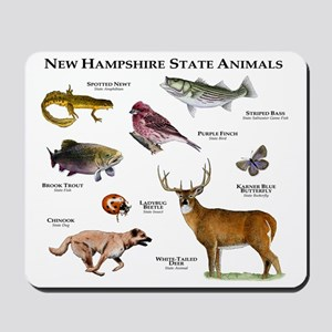 New Hampshire State Animals Mousepad