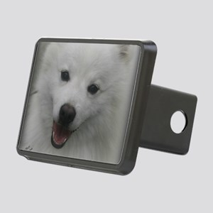 Eskie Face Rectangular Hitch Cover