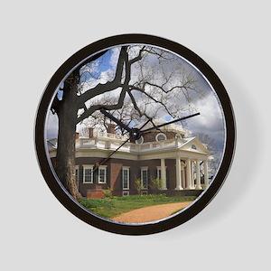 Monticello 12X18 Wall Clock