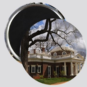 Monticello 12X18 Magnet