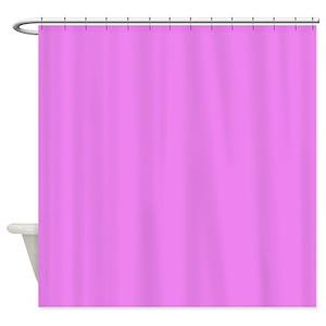 Violet Solid Shower Curtains