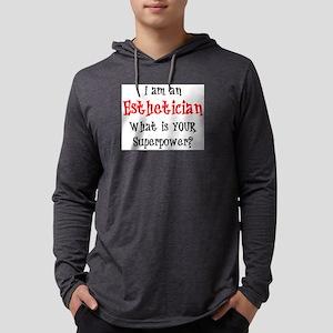 esthetician Mens Hooded Shirt
