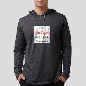 hair stylist Mens Hooded Shirt