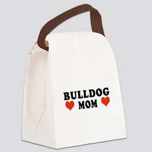 Bulldog_Mom Canvas Lunch Bag