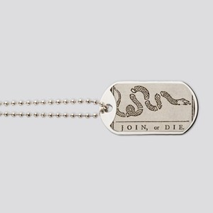 Join or Die Dog Tags
