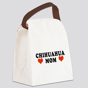 Chihuahua_Mom Canvas Lunch Bag