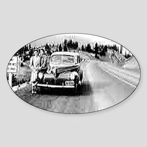 Siskiyou Pass Sticker (Oval)