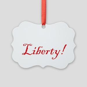 1776 liberty lite Picture Ornament