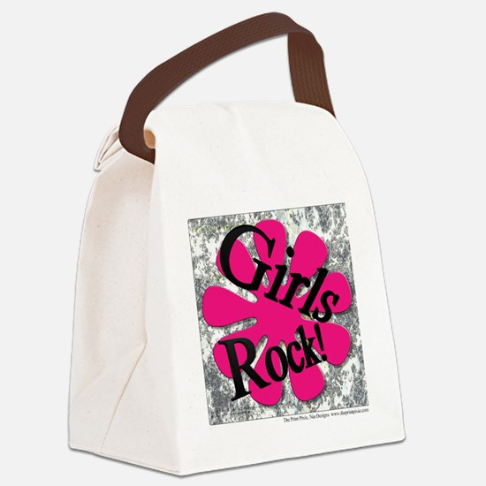 Diva - Girls Rock Canvas Lunch Bag
