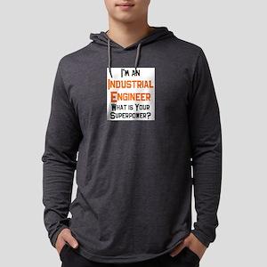 industrial engineer Mens Hooded Shirt