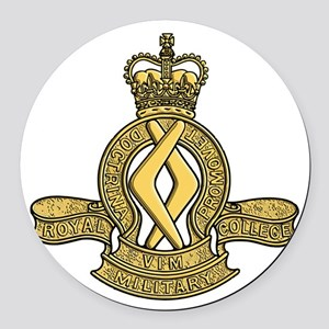 RMC Duntroon Round Car Magnet