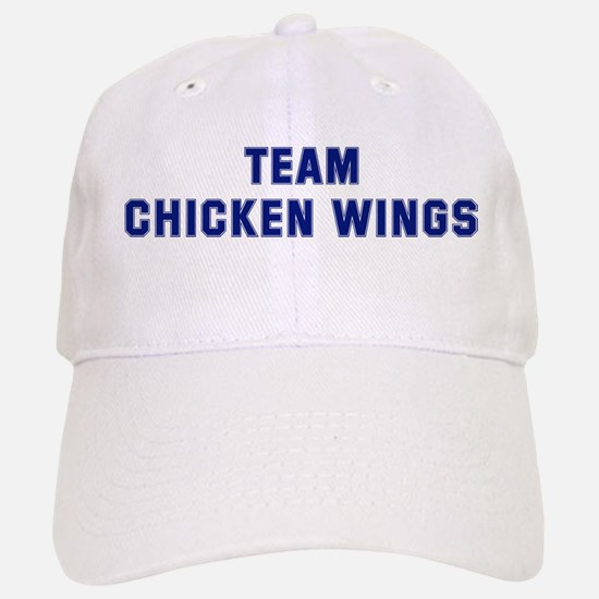 Team CHICKEN WINGS Baseball Baseball Cap