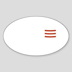 Get Pork Roll Sticker (Oval)