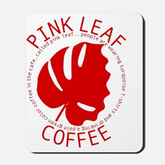 wt-ss_pink-leaf Mousepad