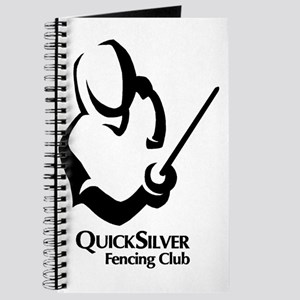 QSF Fencer Silhouette Black Journal