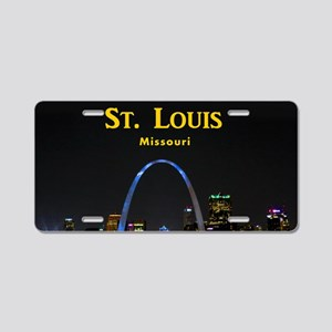 St Louis Gateway Arch Aluminum License Plate